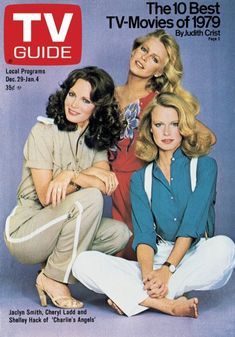 TV Guide December 29, 1979 - Jaclyn Smith, Cheryl Ladd and Shelley Hack of Charlie's Angles