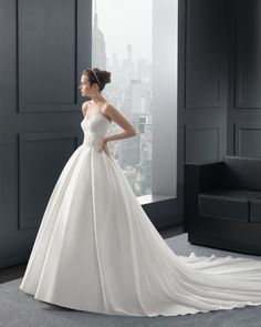 Ball Gown Wedding Dresses : Two by Rosa Clara Wedding Dresses 2015 Collection Part II. To see more: www. Rosa Clara Wedding Dresses, 2015 Wedding Dresses, Cheap Wedding Dress, Bridal Dresses, Wedding Gowns, Cheap Dress, Beautiful Dresses, Nice Dresses, Formal Dresses