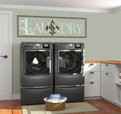 Items similar to Laundry Room Decal / Laundry Letters Held by Clothespins Wall Decal / Laundry Line Wall Decal / Clothespins Decal / Laundry Room Decal on Etsy Laundry Room Decals, Laundry Art, Laundry Decor, Laundry Signs, Laundry Room Storage, Laundry Room Design, Vinyl Wall Decals, Laundry Rooms, Vinyl Room