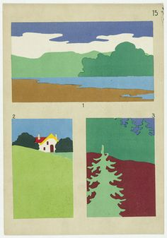 Hans Kappler (German). Gift 13: Paper Cutting-Kindergarten material based on the educational theories of Friedrich Froebel. Date: c.1920.
