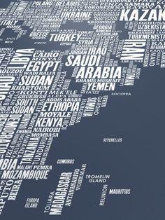 The Khool | Worl Word Map | Illustration