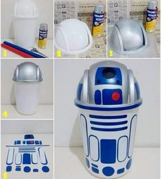 R2D2 Trash Can                                                                                                                                                                                 More
