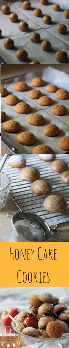 Little Honey Cakes or Honey Cakes in Cookie form, these bite size treats are the best answer to the traditional Rosh Hashanah dessert.