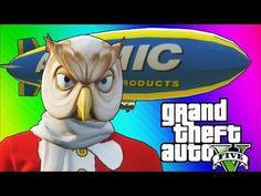 GTA 5 Online: Fun Job - Tow Trucks, Blimps, & Stun Gun Hookers! (GTA 5 Funny Moments) - YouTube