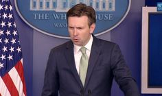 "Press Sec. Josh Earnest: White House 'Most Transparent In History' ""... how do you justify lying for a living?"""