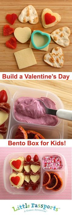 Valentine's Day is just around the corner but there's plenty of time to plan a special lunch for the kids you love most. #BentoBox