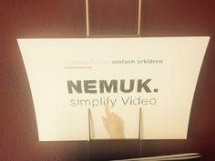 Nemuk Flyer für Video Animationen