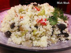 Mish-Mash: Кус-кус с маслини и зеленчуци