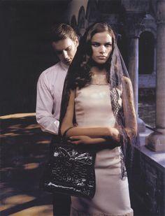 Katja Shchekina - Vogue Russia August 2005