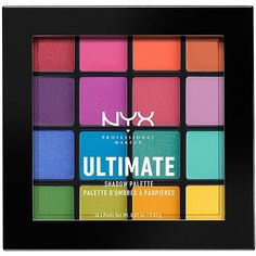 NYX Brights Ultimate Eyeshadow Palette - $17.99