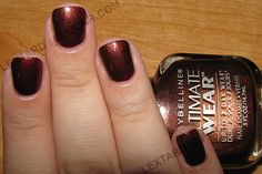 Maybelline Ultimate Wear - Velvet Crush Vintage Nails, Top Coat, Maybelline, Nail Colors, Crushes, Nail Polish, It Is Finished, Bronze, Velvet
