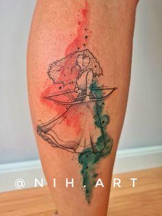 Tatuagem sketch: artistas brasileiros para você seguir! - Blog Tattoo2me Blackwork, Disney Stained Glass, Watercolor Tattoo, Blog, Tattoos, New Tattoos, Tattoo, Artists, Style