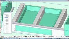 Sketchup tutorial: Miter saw stand Mitre Saw Station, Sketchup Woodworking, Mitre Saw Stand, Miter Saw, Cnc, Bar Chart, Software, Tutorials, Construction