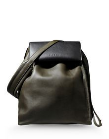 Medium leather bag - MARNI via www.thecorner.com