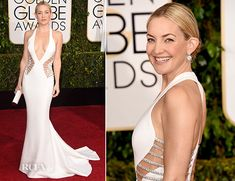 Kate Hudson In Atelier Versace - 2015 Golden Globe Awards--