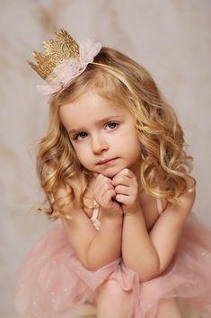 Ballerina tutu crowns|| pixie ballerina tutu vintage gold lace crown|| photography prop PRINCESS (all ages)