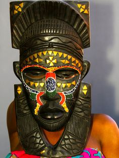 African masks from Nigeria. Beautiful.  www.fumisfashionfiles.com