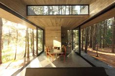 Live Modern: Casa Cher by BAK Arquitectos – Design & Trend Report - Sustainable Architecture, Contemporary Architecture, Interior Architecture, Futuristic Architecture, Concrete Houses, Forest House, House In The Woods, My Dream Home, House Design