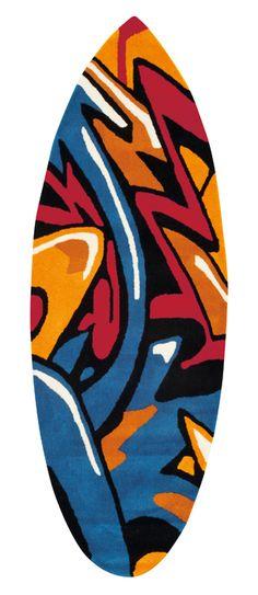 Luxusní koberec ve tvaru surfu Arte Espina - DesignProDeti.Cz