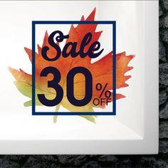 Αυτοκόλλητο βιτρίνας φθινοπωρινό φύλλο No2 με ποσοστό έκπτωσης Logos, Art, Art Background, Kunst, Logo, Art Education, Legos