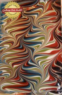 Helix/Combing Swirl by Amy B.