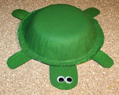 Another one for the little guy -  How to Make a Turtle Out of a Bowl