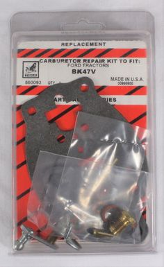 Brakes on ford ford tractor repair pinterest ford tractors tisco carburetor repair kit bk47v ford tractor naa 1953 54 600 700 1955 fandeluxe Image collections