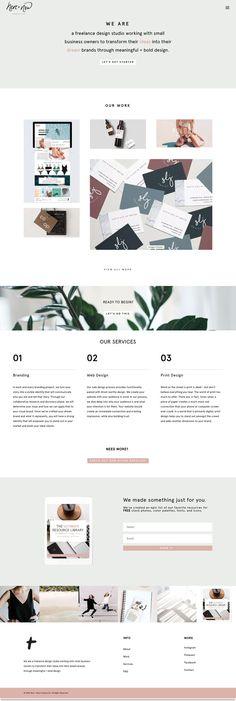 Website design by Here + Now Creative Co. | modern, minimal, wordpress design, wordpress layout, web design, website, web layout, homepage layout, minimal design, minimal web design, web design for creative business