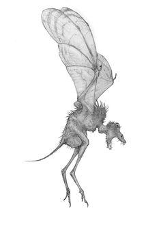 想像を刺激する造形。ウクライナのアーティストAlexey Monzhaleyが描く奇怪な恐竜やSF的な怪物たち