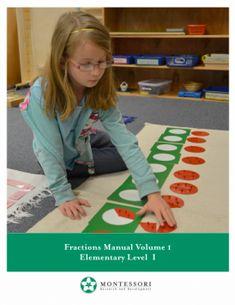   Montessori Research and Development - manuals