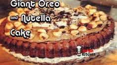 Giant Oreo Nutella Cake - HD Recipe Video, via YouTube.