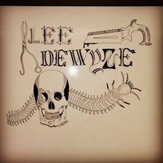 Halloween illustration for Lee Dewyze