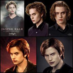 "Jasper: from ""Twilight"" to ""Breaking Dawn Part 2"""