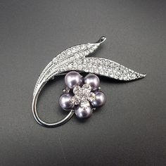 Like and Share if you want this  Quality Elegant Fashion Women Men Jewelry Simulated Pearl Grey Color Rhinestone Plant Flower Pin Brooch, Item NO.: BH7919     Tag a friend who would love this!     FREE Shipping Worldwide     Buy one here---> http://jewelry-steals.com/products/quality-elegant-fashion-women-men-jewelry-simulated-pearl-grey-color-rhinestone-plant-flower-pin-brooch-item-no-bh7919/    #rings