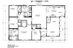 Quad Wide Mobile Home Floor Plans