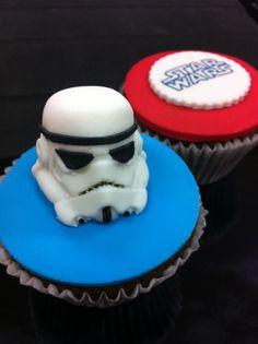 Food art - Star Wars cupcakes