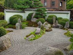 Zen-Garten - Japanischer Garten