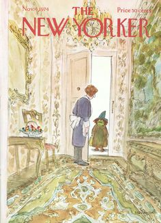 The New Yorker - Monday, November 4, 1974 - Issue # 2594 - Vol. 50 - N° 37 - Cover by : James Stevenson