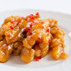Orange Chicken - an American Chinese classic reinterpreted in a wholesome almost-healthy way.