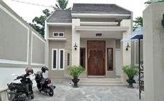 41 rumah ala indonesia paling di sukai komunitas! Minimal House Design, Minimal Home, Teen Bedroom, Bedroom Decor, Bungalow Style House, Home Fashion, Men's Fashion, Exterior Design, Minimalism