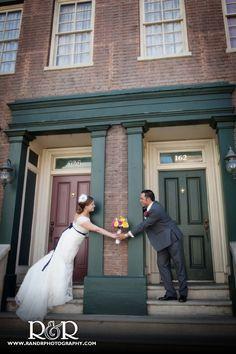 Wedding Venue | CBS Backlot | Bride & Groom | #weddingvenue #CBSBacklot #brideandgroom #RandRCreativePhotography