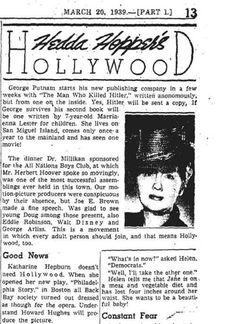 Howard Hughes and Katharine Hepburn   Howard Hughes   The Katharine Hepburn Cultural Arts Center Blog