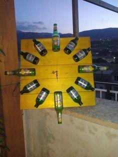 Orologio bottiglie birra