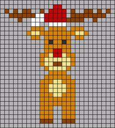 Cross Stitch Art, Cross Stitching, Cross Stitch Patterns, Bead Loom Patterns, Macrame Patterns, Plastic Bead Crafts, Christmas Knitting Patterns, Alpha Patterns, Christmas Cross