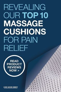 Discover The Best Massage Cushion For Pain Relief- Do you go for a chair pad that you can use at home or something smaller that you can pop in your bag to use whenever you need it?  You want to make the right decision and invest your money wisely so take a look at our handy massage cushion reviews.