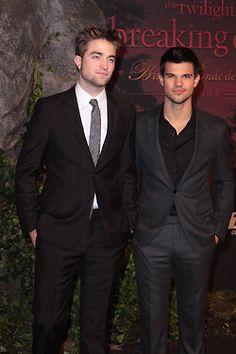 Robert Pattinson and Taylor Lautner.