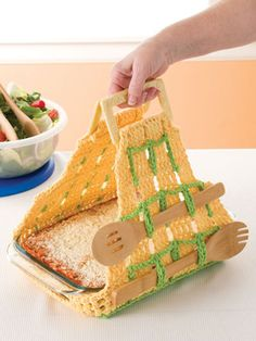 Crochet for the Home - Kitchen Crochet Patterns - Free Crochet Pattern -- Summer Fun