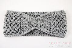 Criss Cross Head Wrap by Ana Benson