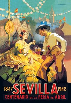 Sevilla - 1847-1948 - Centenario de la Feria de Abril