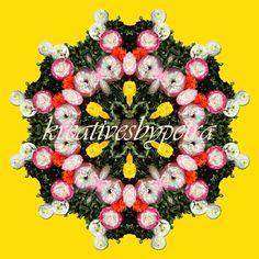 Mandala ''Strohblumen'' kreativesbypetra #mandala #inspiration #innereruhe #spirit #strohblumen #strawflowers Petra, Mandala, Floral Wreath, Spirit, Wreaths, Halloween, Flowers, Inspiration, Decor